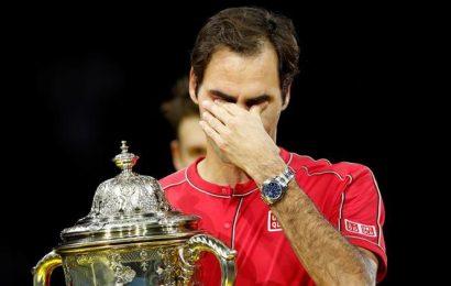WATCH: Roger Federer breaks down after winning 10th Swiss Indoors title