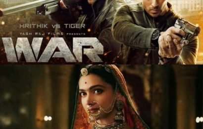Hrithik Roshan-Tiger Shroff's War BEATS Padmaavat to become seventh-highest grossing film of all-time | Bollywood Life