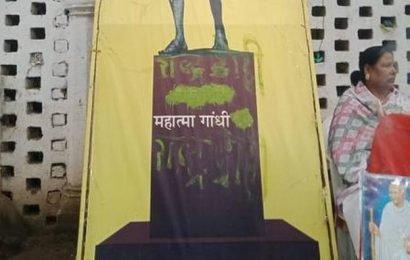 On Gandhi Jayanthi, Mahatma's poster defaced in Madhya Pradesh's Rewa museum