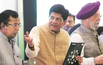 Abhijit Banerjee Left-leaning, backed Congress' NYAY that people rejected: Piyush Goyal