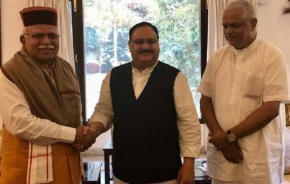 BJP close to forming govt in Haryana with rebels' support