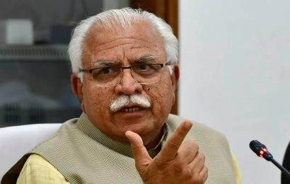 'We say Bharat Mata ki Jai, for Congress it is Sonia Mata Ki Jai', says Haryana CM Khattar