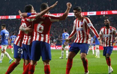 Costa left out as Morata on target again in Atletico Madrid victory