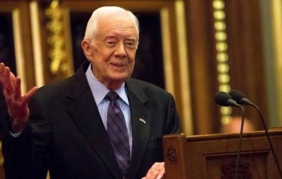 Former US president Jimmy Carter hospitalized after fall at Georgia home