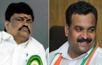 Manickam Tagore complains to LS speaker on Rajenthra Bhalaji threat