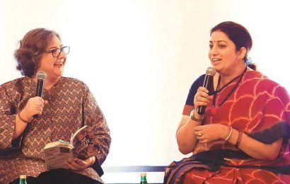 'Disagreement is a sign of right upbringing,' says Smriti Irani at book launch