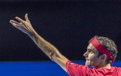 Roger Federer celebrates 1,500th match with Basel breeze