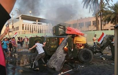 Death toll in Iraq clashes rises to 44