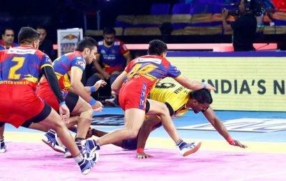 Pro Kabaddi: Telugu Titans hand UP Yoddha first home loss of the season