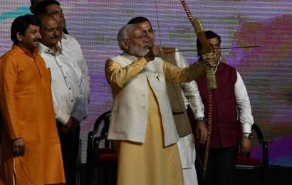 Work for furthering women empowerment and ensuring their dignity: PM Modi at Dussehra celebrations