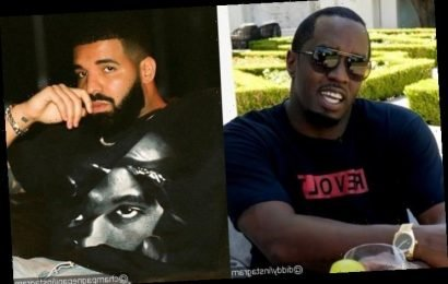Moving On? P. Diddy Spotted Attending Drake's Birthday Party With a White Girl