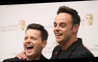 Ant and Dec thought their TV careers were over after life-changing year