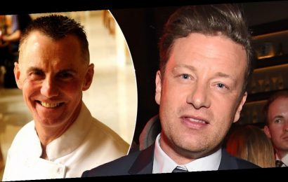 Jamie Oliver claims Gary Rhodes died after 'tragic fall' in now-edited tribute