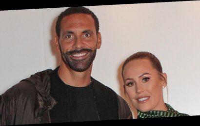 Kate Wright teases husband Rio Ferdinand with hilarious throwback photo as he celebrates 41st birthday