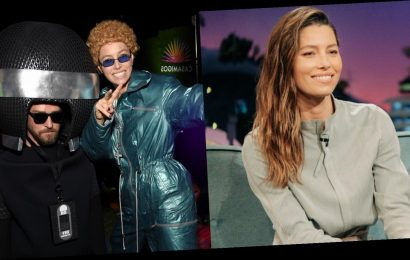 Jessica Biel Says Her Justin Timberlake Halloween Costume Was His Actual Real One!