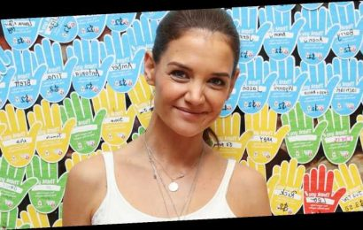 Katie Holmes Stops By McDonald's For McHappy Day in Australia