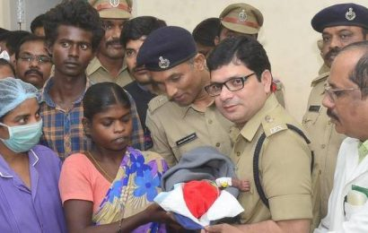 Baby abducted from Khammam hospital rescued