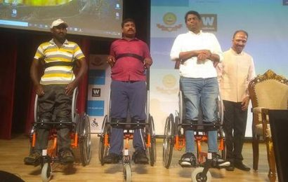 Watch | IIT Madras launches India's first standing wheelchair