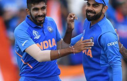 ODI Rankings: Kohli, Bumrah retain top spots
