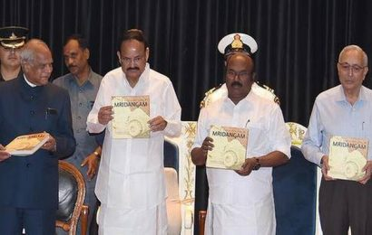 Monograph on mridangam released