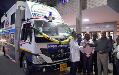 Vellore gets mobile medical ambulance for animals