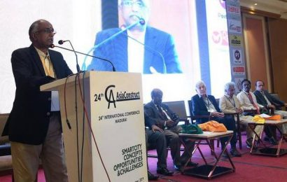 AsiaConstruct-2019, a conference on smart cities, begins in Madurai