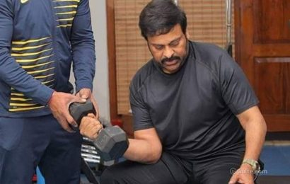 Buzz: Megastar Chiru Getting Toned In USA