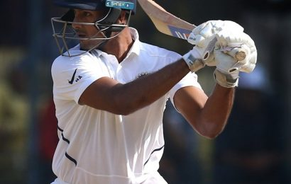 Mayank has made a case for himself to be selected in WI series