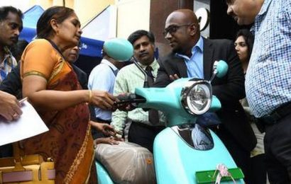 SBI offers loans to buy electric scooter