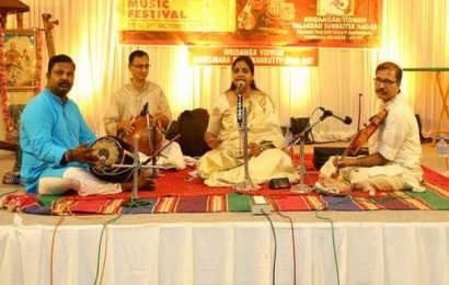 Reputed musicians performed at National Music Festival in Palakkad