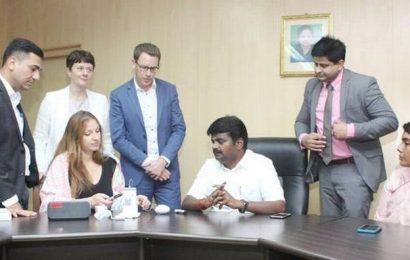 Doctors from London meet Tamil Nadu Health Minister
