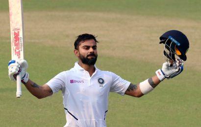 PICS: India set to seal big win as Bangladesh collapse