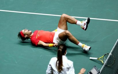 PIX: Nadal fires Spain to Davis Cup final against Canada