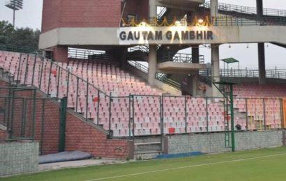 Gambhir finally has stand named after him at Kotla