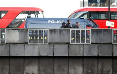 Many injured, 1 held in stabbing near London Bridge