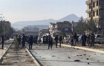 Seven killed in Kabul after car bomb blast near interior ministry