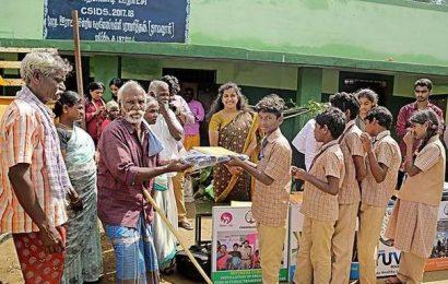 Health camp for tribal people in Anaikatti
