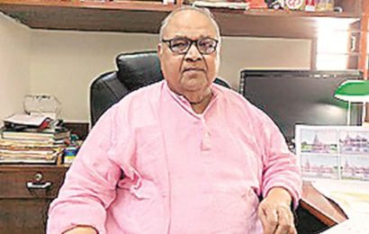 Spotlight back on him, Ram temple architect says work will take up to 3 years