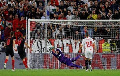 La Liga: Atletico Madrid denied top spot after Costa misfires from spot