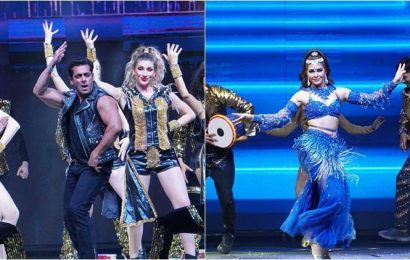 Dabangg tour: Salman, Sonakshi and Prabhudheva spread magic in Hyderabad