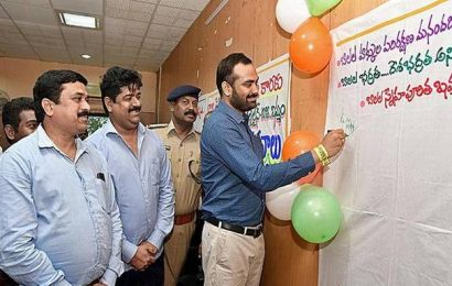 Signature campaign on child rights' awareness