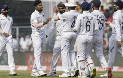 India beats Bangladesh by an innings and 46 runs in Pink ball Test, complete series rout