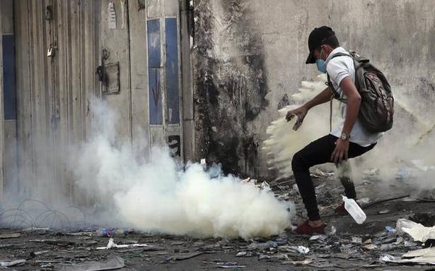 Two killed, 35 wounded in Baghdad protests: police, medics