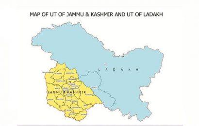 Govt releases new map, PoK's Muzaffarabad in UT of J&K