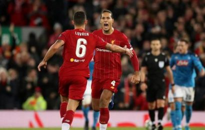 Champions League   Liverpool and Napoli left with work to do after Anfield draw