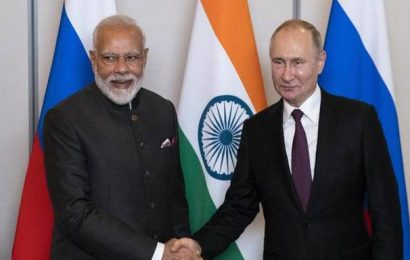 Putin meets Modi at BRICS, invites him for Victory Day celebrations in May