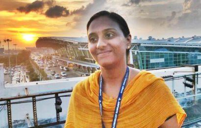 Meet Remya Sreekantan, Chennai airport's first woman firefighter