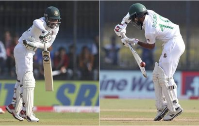 Bangladesh openers register rare 'pair of sixes' in Indore Test
