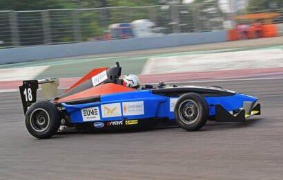 Vishnu Prasad and Raghul Rangasamy ready for final showdown in JK Tyre FMSCI National Racing Championship