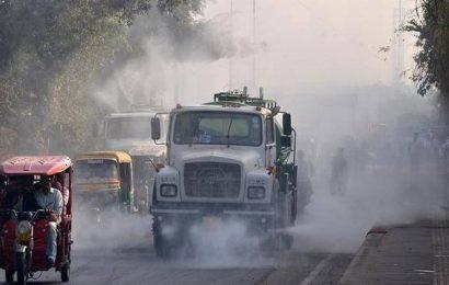 Delhi's air quality improves to 'poor'